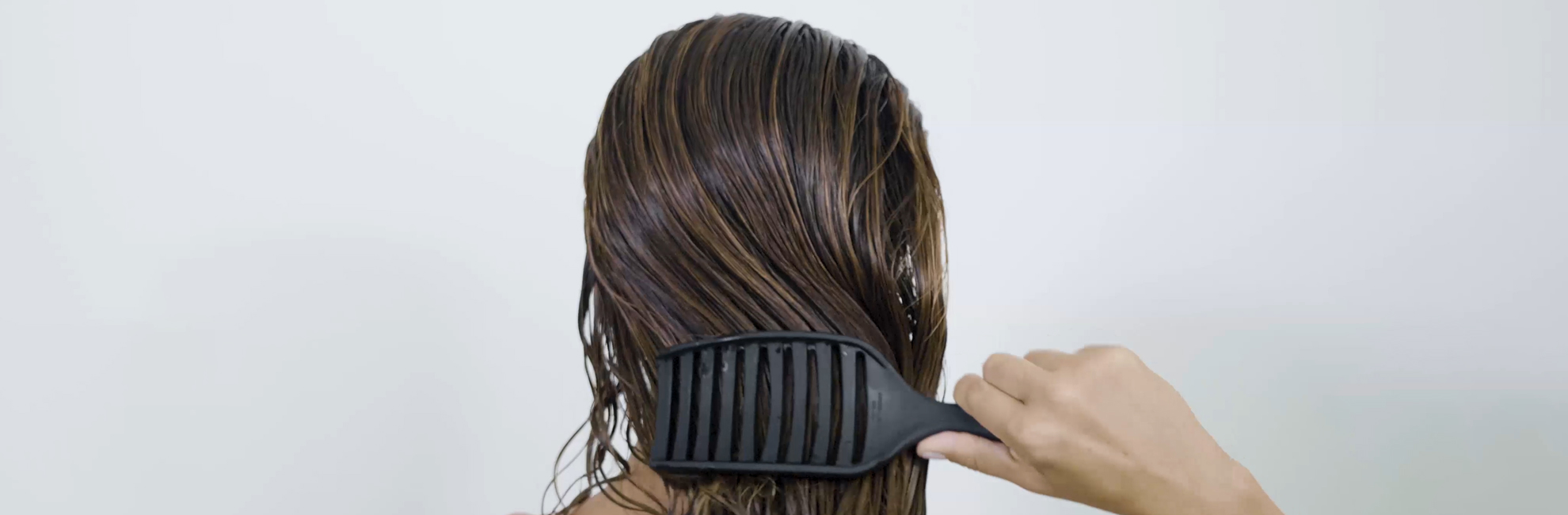 how to brush your hair